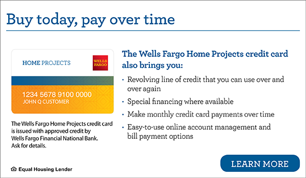 The Wells Fargo Home Projects Credit Card