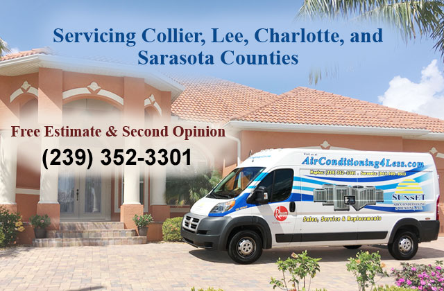 Sunset Air Conditioning Heating Inc Naples Fort Myers
